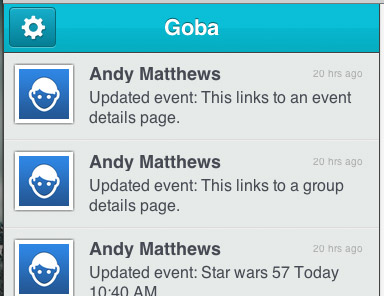 goba mobile website